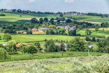 Het Zuid-Limburgse landschap in de buurt van Epen