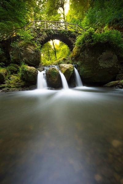 Waterfall of the fairy's van Ferry veldhuizen