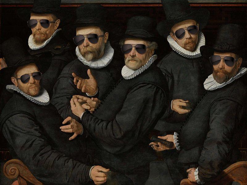Six Wardens sur Marja van den Hurk