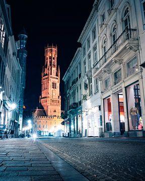 Brügge bei Nacht - Belgien von Thijs van Beusekom