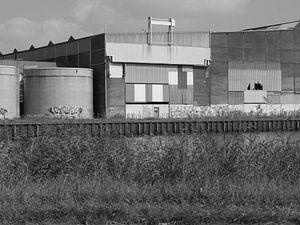 Industrial grafity van
