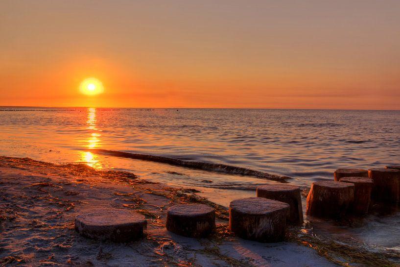 Sonnenuntergang van Steffen Gierok
