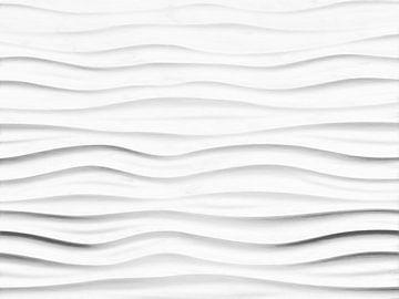 Abstrakte Wellenlinien von Maurice Dawson