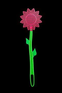 Fliegenklatsche Blume von Floris Kok