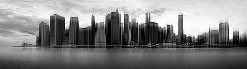 New York City Skyline von Wim Schuurmans