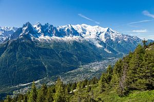 Vallée de Chamonix sur