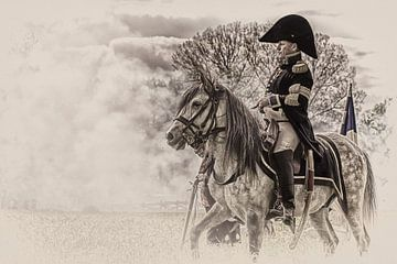 Napoleon Bonaparte Te Paard. sur Photo Dante