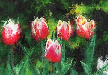 Tulpengruppe van Roswitha Lorz
