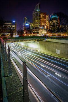 De tunnelbak onder hoogbouw van Roy Poots