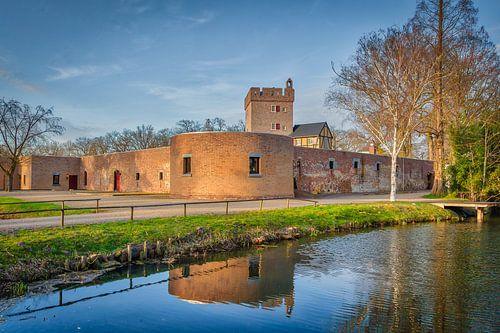 Herkenbosch Kasteel Daelenbroek (1326) Midden Limburg Nederland, Hotel van