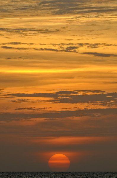 Caribische Zonsondergang