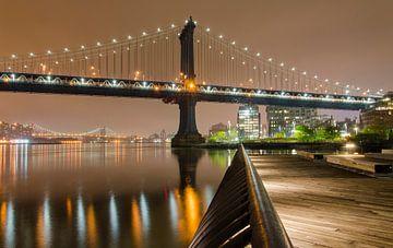 Manhattan Bridge van Jack Koning