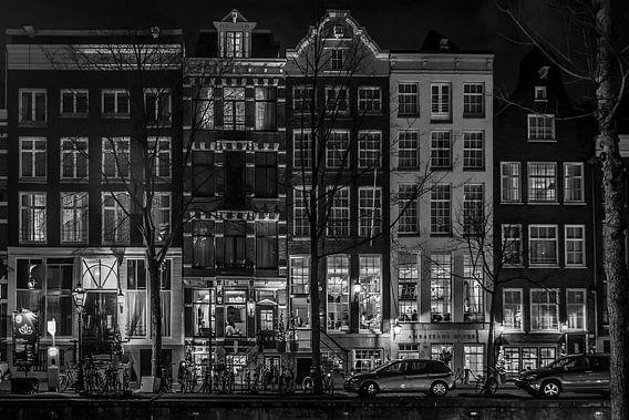 Inkijk aan een Amsterdamse gracht