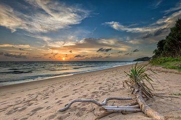 Sonnenuntergang in Koh Lanta von Richard van der Woude
