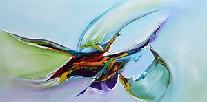 Colorful art van