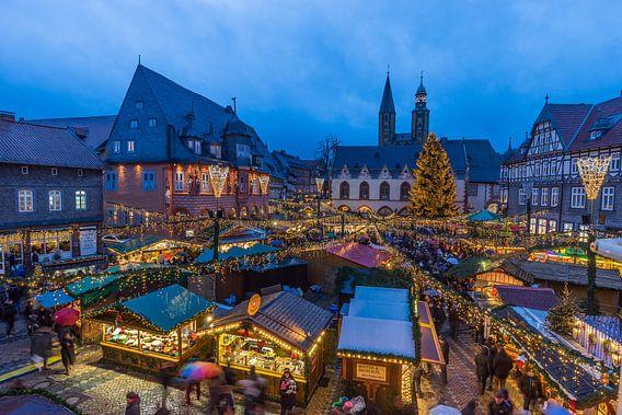 Goslar Weihnachtsmarkt van Patrice von Collani