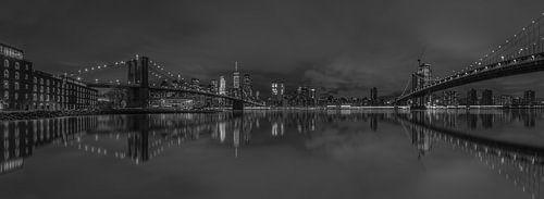 New York Skyline van