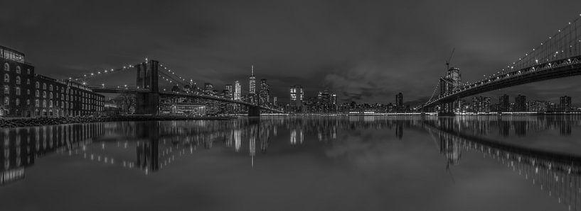 New York Skyline van Rene Ladenius