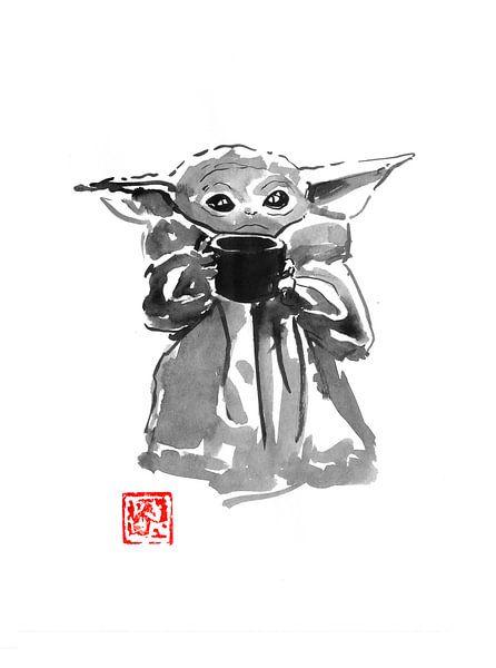 Baby-Yoda von Péchane Sumie