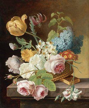 Vase mit Blumen - Jan Frans Van Dael