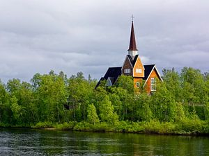Church in Swedish Lapland