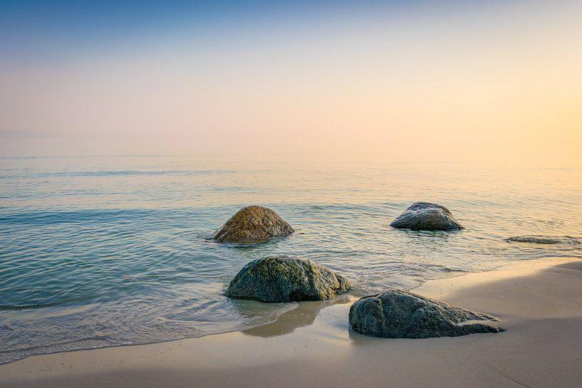 Sonnenaufgang an der Ostsee von Martin Wasilewski