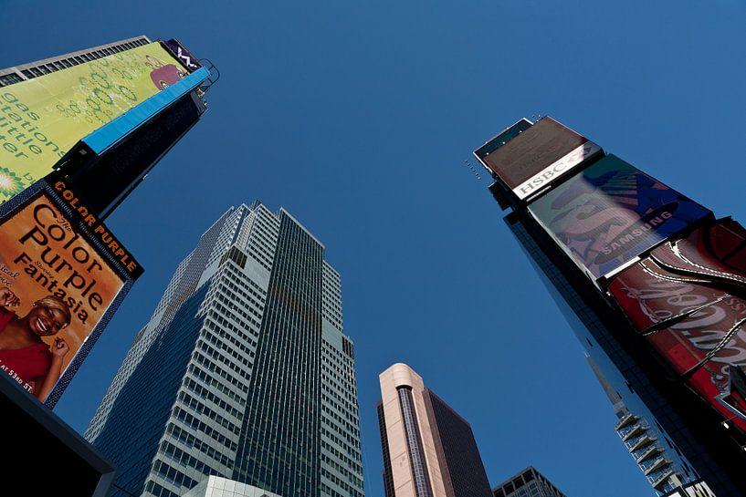 New York Kleurrijk Times Square van Jean-Paul Wagemakers