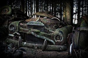 Vervallen auto