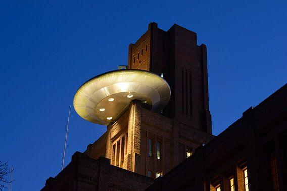 De Inktpot met de UFO in Utrecht van Donker Utrecht