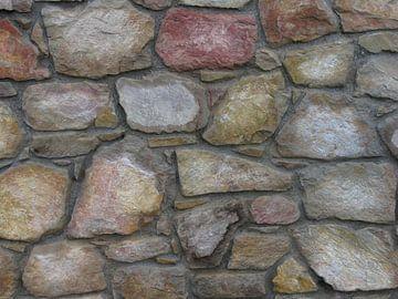 Stenen muur van Rafael Delaedt