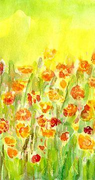 Blumenmenuett von Claudia Gründler