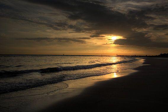 Sunset in Zoutelande van MSP Photographics