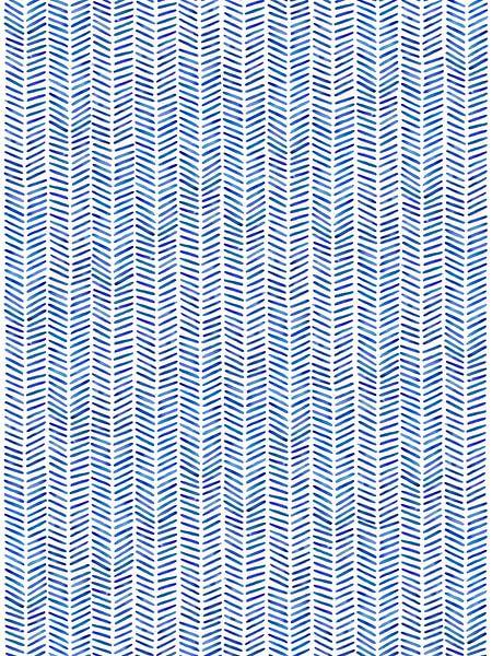 "Visgraat behang ""Zomer'' van Natalie Bruns"