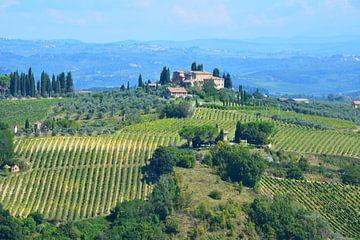 San Gimignano und Landschaft Toskana von My Footprints