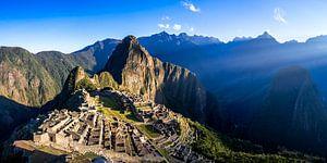 Machu Picchu Panorama 2:1 - Ohne Menschen