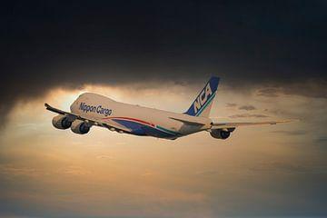 Nippon Cargo Boeing 747-8F, JA 18KZ van Gert Hilbink