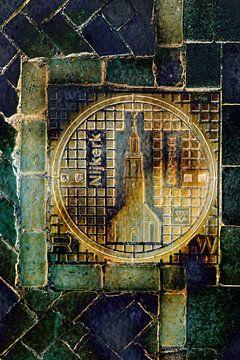 Manhole Cover Nijkerk van Alie Ekkelenkamp