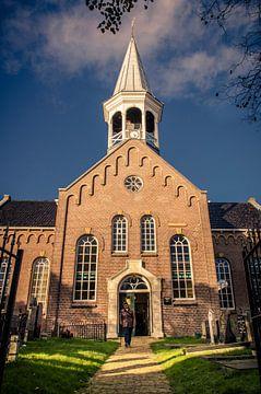 Hervormde kerk van Midsland op Terschelling van Sven Wildschut
