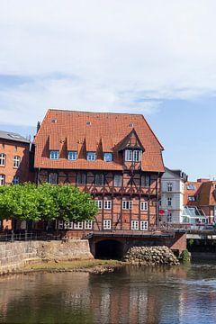 Lüner Mühle, Ilmenau, Hôtel Bergström, Vieille ville, Lunebourg, Basse-Saxe, Allemagne, Europe