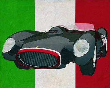 Ferrari F 250G Testarossa 1964 der exklusivste italienische Sportwagen von Jan Keteleer