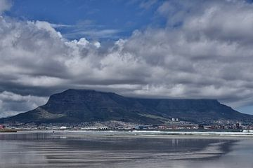 Zuid Afrika, de Tafelberg. von Tilly Meijer