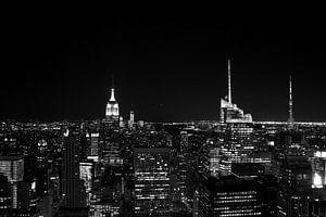 Manhattan B/W van Menno Heijboer