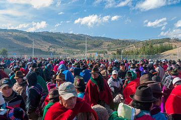 Guamote: Dierenmarkt van Maarten Verhees