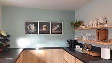 Klantfoto: Koffie drieluik van Silvia Thiel, op xpozer