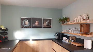 Klantfoto: Koffie drieluik van Silvia Thiel