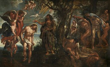 The Baptism of Christ, Peter Paul Rubens sur