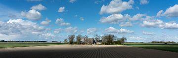 Lichtspel in Groningen van Bo Scheeringa