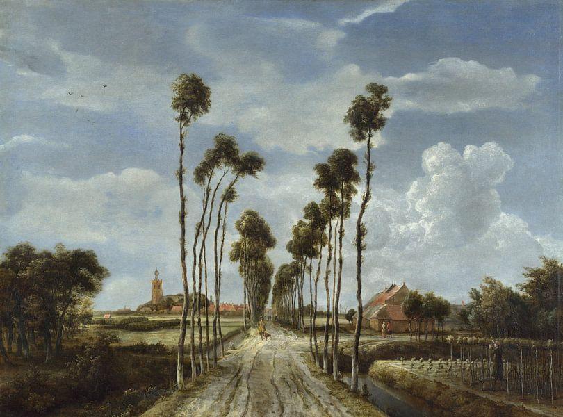 De Middelharnislaan, Meindert Hobbema van Meesterlijcke Meesters