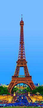 Eiffeltoren artist impression van Sean Vos