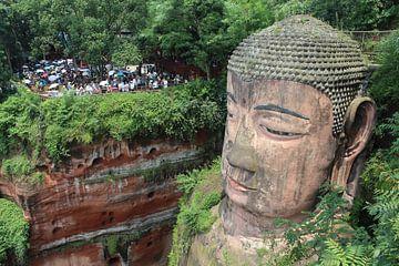 Leshan Boeddha van Berg Photostore